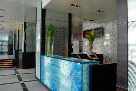 lobby Hotel Romeo
