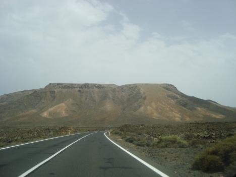 Camino a la Bahía de Jandía