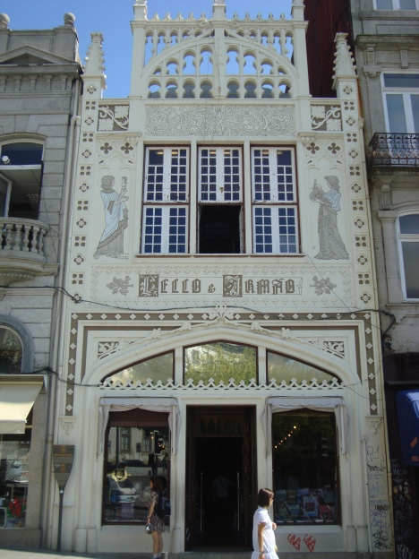 Librería Lello, Oporto.