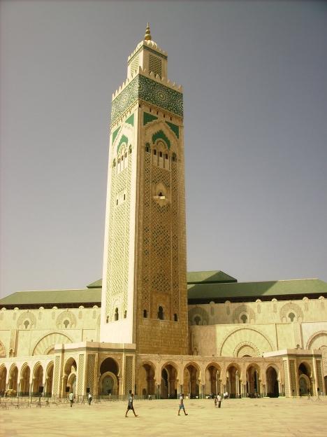 Mezquita de Hasan II, Casablanca