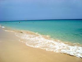 Playa Morro Jable, Fuerteventura.